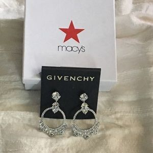 GIVENCHY  - Beautiful Silver Tone Earrings